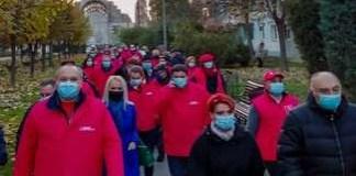 Craiova - Mosia PSD ! Lia Olguta Vasilescu si Antonie Solomon nu respecta legea .. Dubla masura din partea autoritatilor locale ..