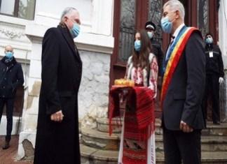 Ambasadorul SUA, ES domnul Adrian Zuckerman, a vizitat, astazi, municipiul Calafat