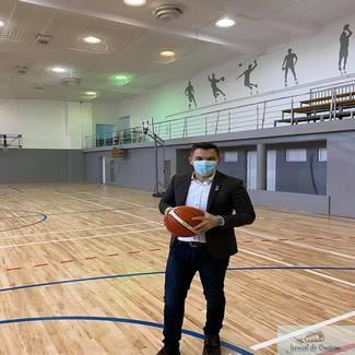 Ionut Stroe : Investiția MTS e aproape finalizată! Primele imagini cu Sala Voința renovată.