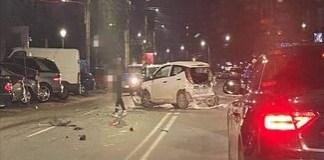 Accident pe strada A.I. Cuza! Soferul ar fi părăsit locul accidentului ...
