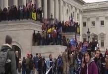 Român arestat de FBI, după protestul de la Capitoliu.