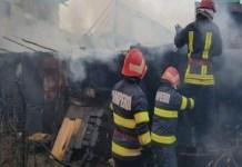 Incendiu in Craiova ..