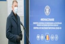 Presedintele Klaus Iohannis : Foarte multa lume doreste sa se vaccineze. Foarte multe centre incep in aceste zile sa functioneze