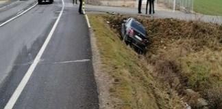 Accident pe Centura de Nord a Craiovei! O tânără s-a răsturnat cu mașina..