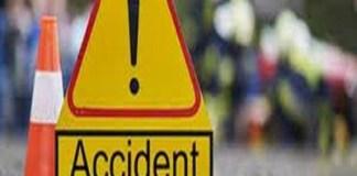 Olt : Accident cu patru autocamioane și un autoturism implicate. Traficul este complet blocat