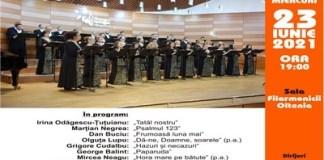"""CORALA ACADEMICĂ A FILARMONICII """"OLTENIA"""" INVITATĂ LA SĂPTĂMÂNA INTERNAŢIONALĂ A MUZICII NOI"""