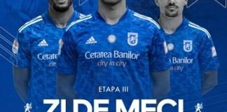 Universitatea Craiova intalneste FC Voluntari in etapa 3