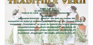 """Festivalul de datini şi obiceiuri """"TRADIŢIILE VERII"""" - Ediţia a IX-a"""