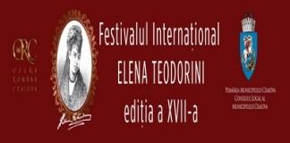 Opera Română Craiova organizează, în perioada 14 august - 19 septembrie 2021, cea de-a XVII-a ediție a Festivalului Internațional Elena Teodorini.
