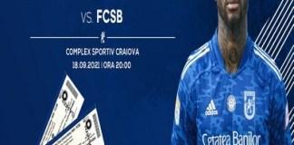 FCU Craiova a pus în vânzare biletele pentru partida cu FCSB .