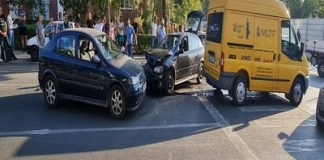 Accident in Craiova ! 4 masini au fost implicate ..