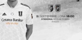 Adrian Mutu revine acasa ca adversar! FC Arges intalneste maine FCU Craiova
