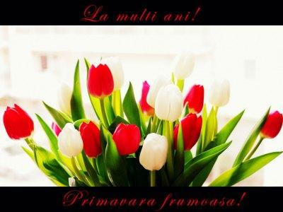 E primăvară, iarăși primăvară…