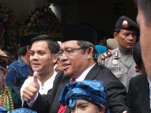 Aher setelah melantik Walikota Bogor, Bima Arya