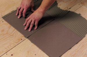 Укладка керамической плитки на деревянный пол - Журнал ...