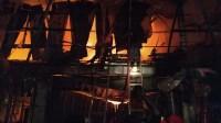 Kebakaran ruko dekat pasar malam Karimun. Update: Kebakaran dekat Pasar Malam Karimun hanguskan sembilan ruko. (foto: yra)