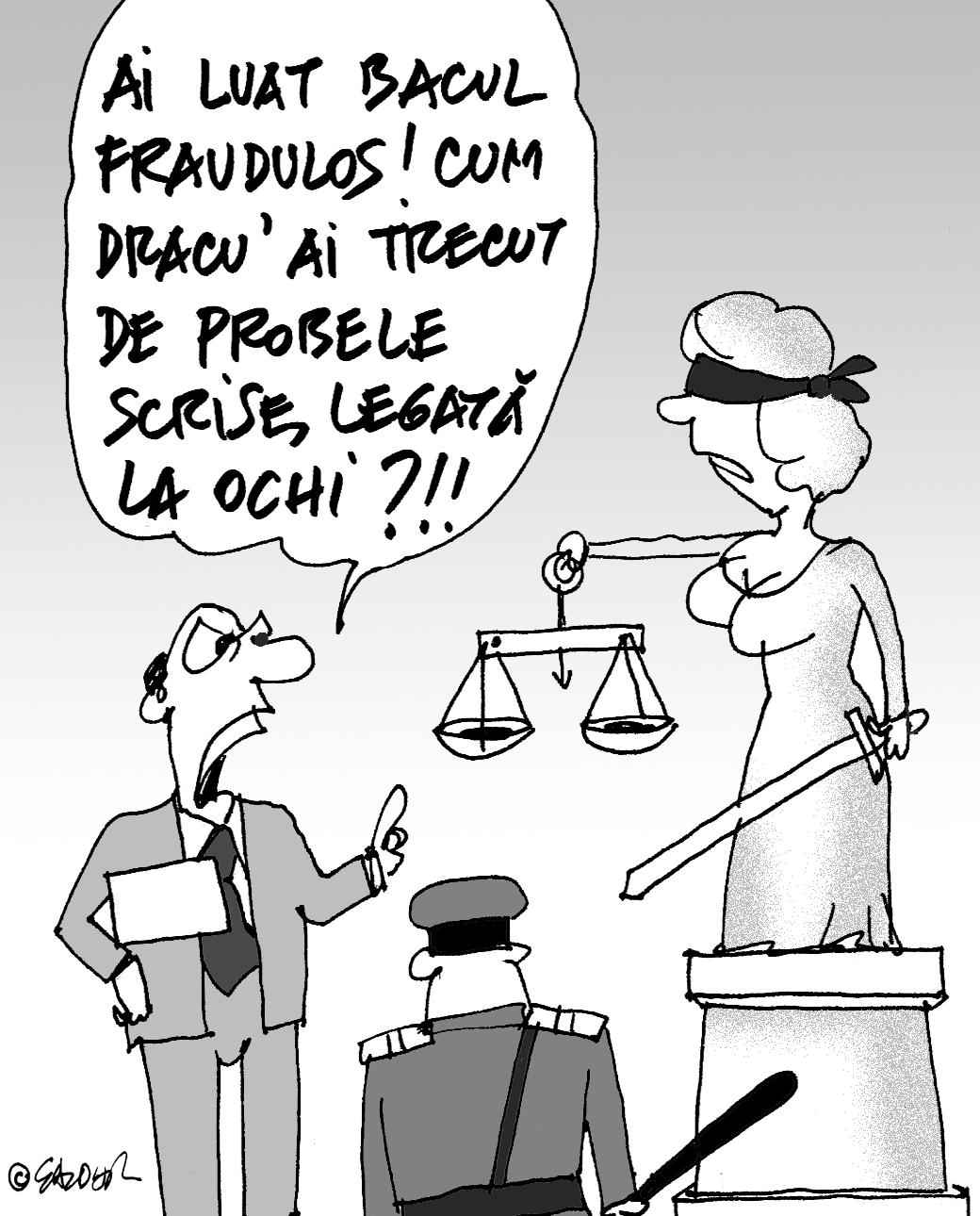 Justiția oarbă