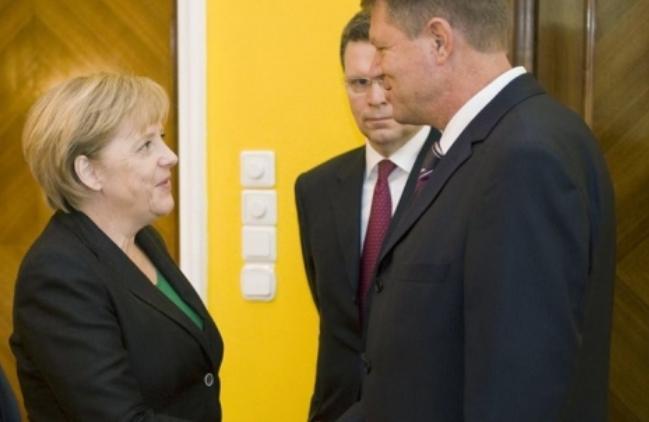 Confuzii privind data întâlnirii Merkel - Iohannis