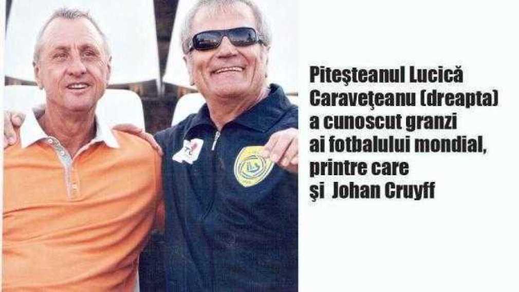 A murit Lucică Caravețeanu, maseurul din perioada de glorie a FC Argeș 1