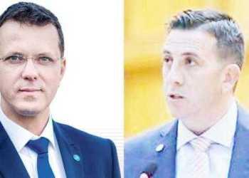 Deputaţii Ionuţ Moşteanu şi Nicolae Georgescu, vecini de cabinet 2