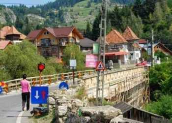 A fost desemnat câştigătorul pentru proiectarea şi execuţia podului peste râul Dâmboviţa 6