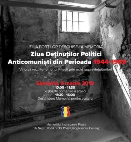 Ziua Porților deschise la Memorialul Închisoarea Pitești 2