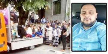 Babi, un rom împuşcat în America, a fost jelit de rudele din Argeş 5