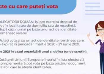 AEP: Material video de informare privind votul la alegerile locale parţiale din 27 iunie 10