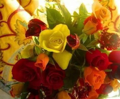 Flori pentru toti cititorii acestui blog