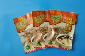 Dried hashima