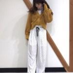 【春夏にぴったり!】白のドット柄パンツのおすすめコーデ7選