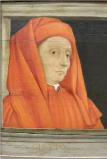 Giotto Portrait by Paolo Uccello