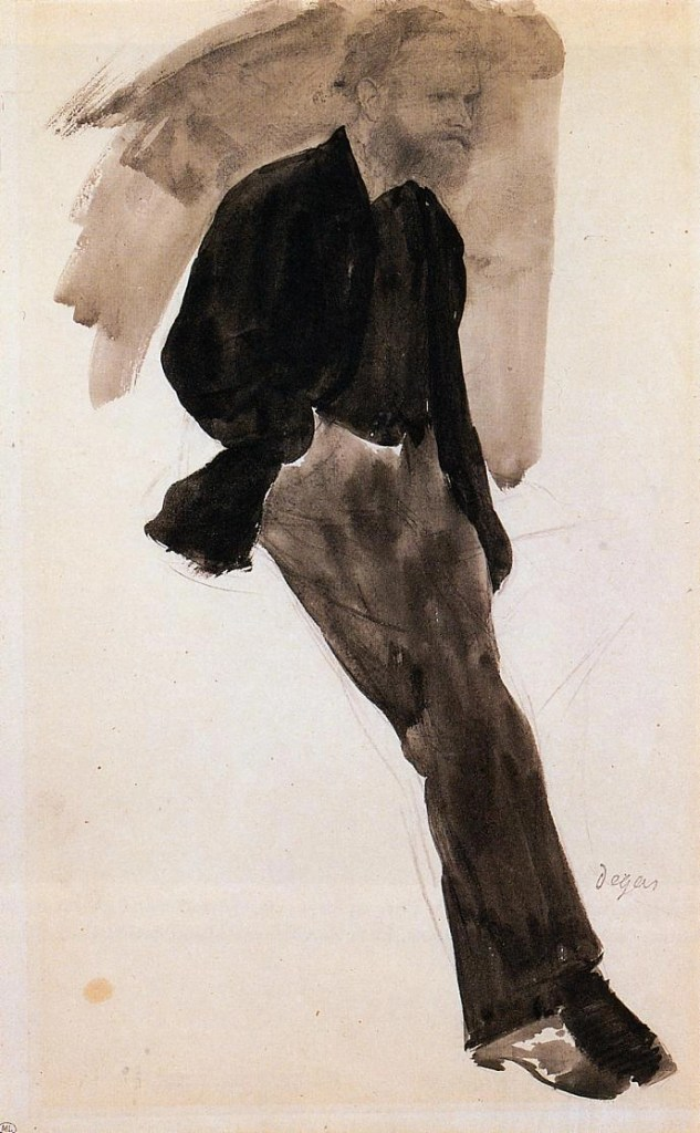 Edouard Manet by Edgar Degas