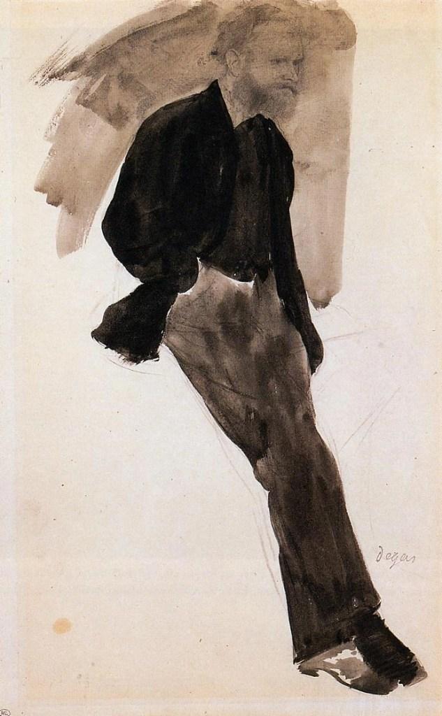 Edouard Manet by Edgar Degas