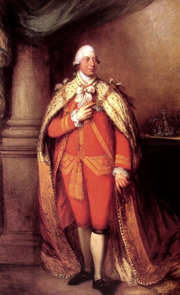 King George III by Thomas Gainsborough