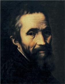 Portrait of Michelangelo by Marcello Venusti
