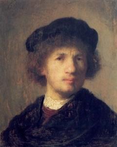 Rembrandt Self-Portrait 1630