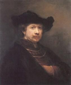 Rembrandt Self-Portrait 1642