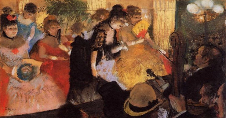 The Cafe Concert by Edgar Degas