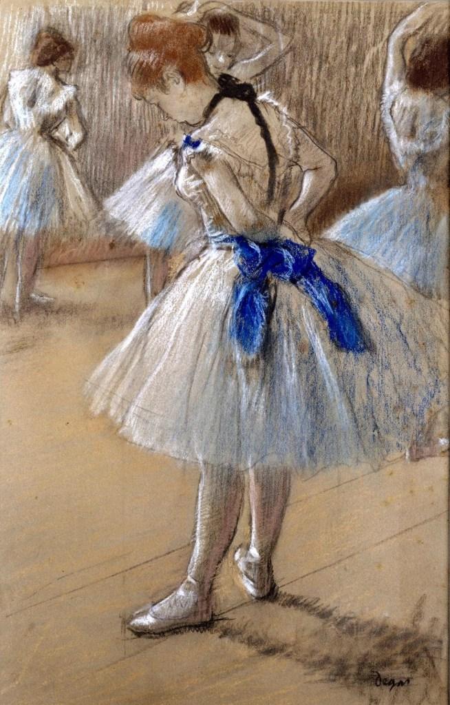 The Dance Studio by Edgar Degas