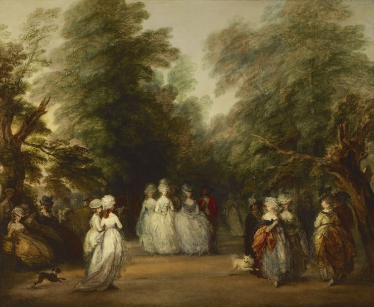 The Mall in St. James Park by Thomas Gainsborough