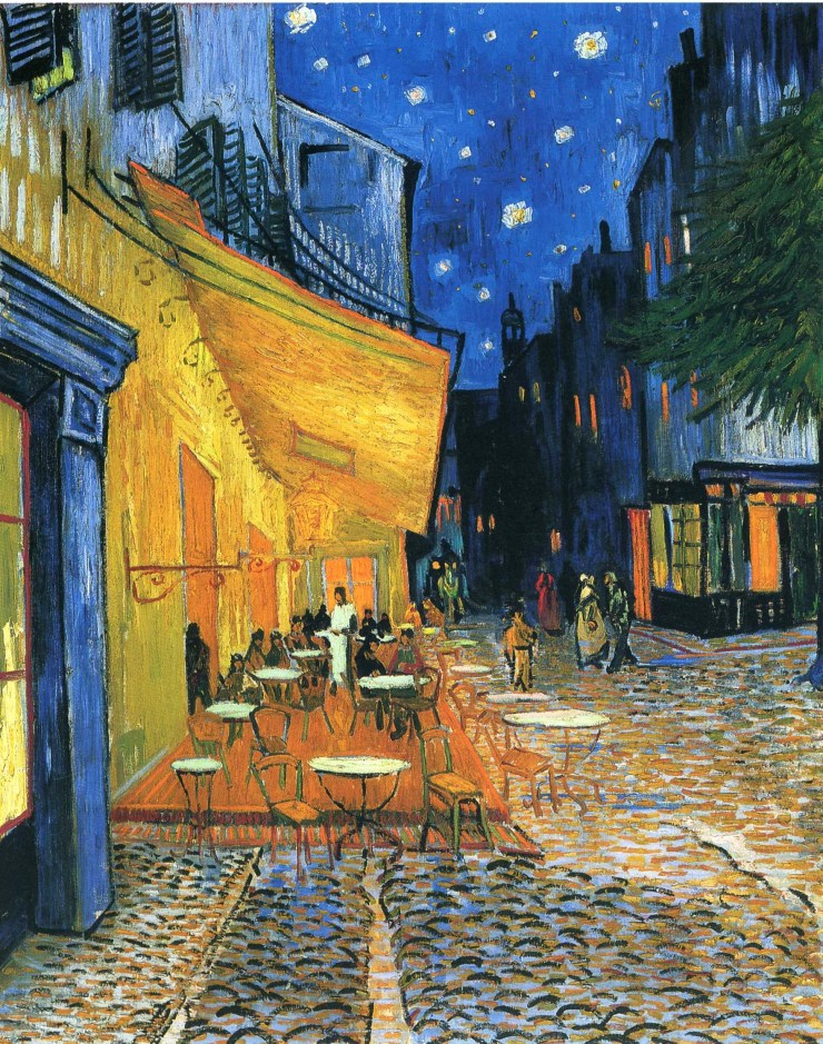 Cafe Terrace Place du Forum Arles by Vincent van Gogh