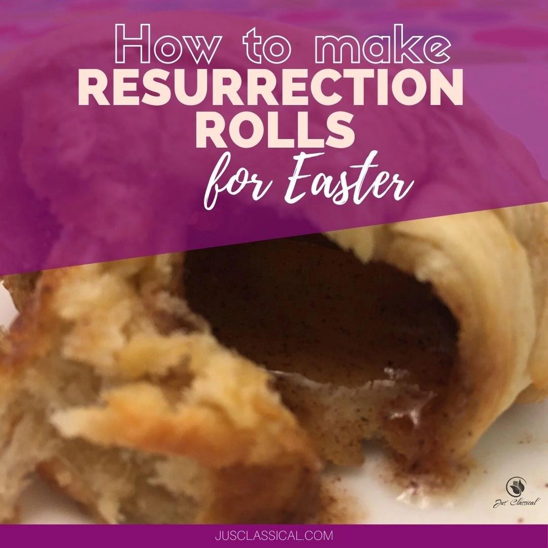 How to make Resurrection Rolls for Easter