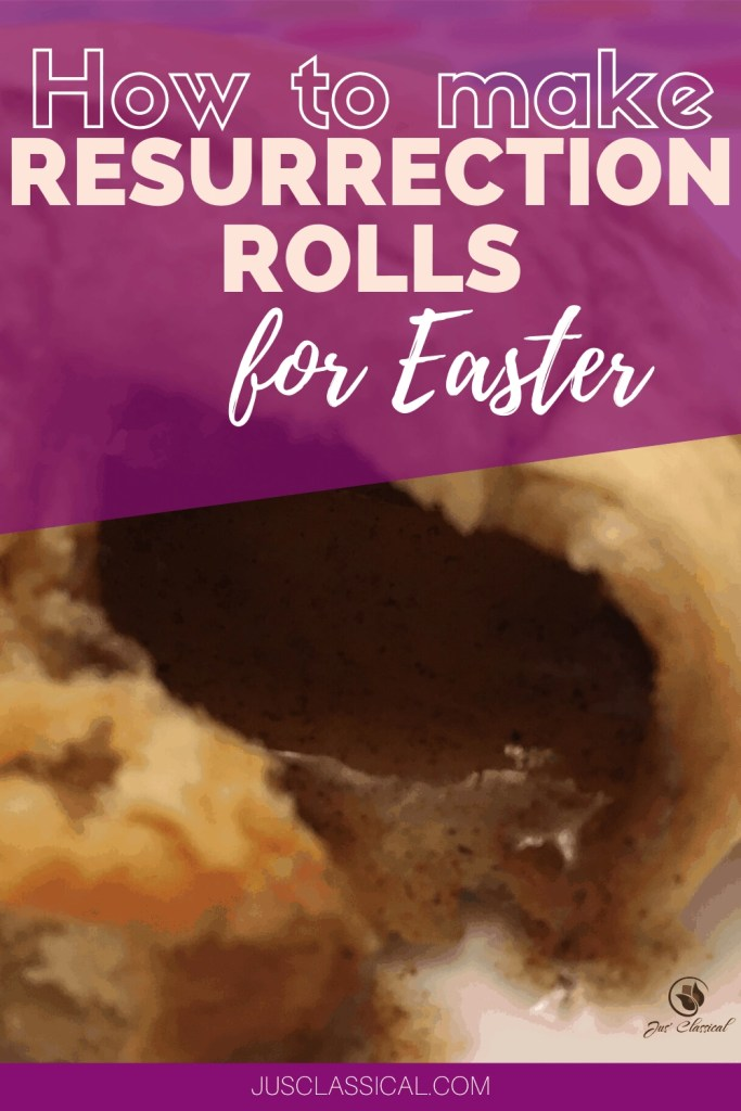 How to Make Resurrection Rolls for Easter pinterest