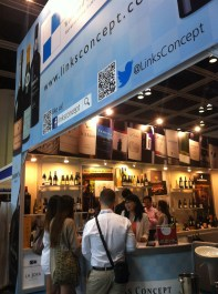 At Links Concept booth; Rest&Bar Expo