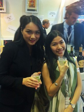 With friend Yonna; Rest&Bar Expo