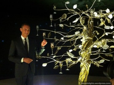 Xavier Beysecker of Pernod Ricard with Enchanting Tree