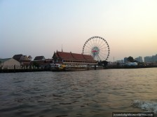 Heading to Asiatique the Riverfront, on the river; Bangkok