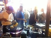 Making of Indian Deep-fried Bhature; Kweilin Street Night Market