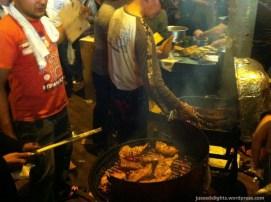Middle East Chicken Wings; Kweilin Street Night Market